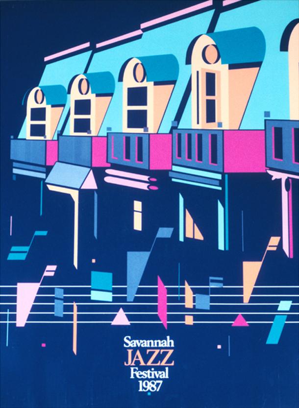 Savannah GA Jazz Festival Poster