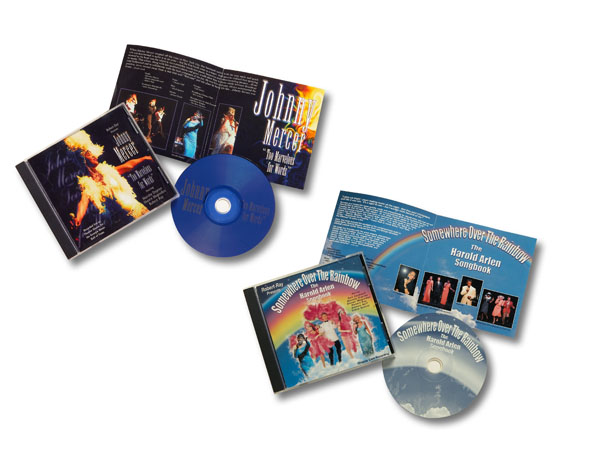 Music Cd packaging for promotion