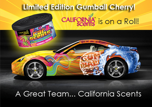 Car Wrap and Limited Gumball Rally Race Air Freshener