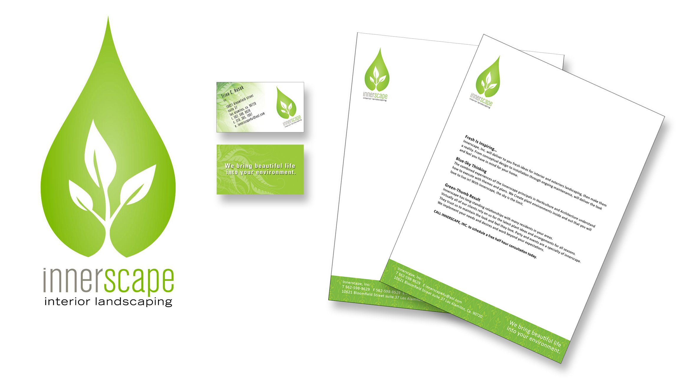Sample landscaping business cards selol ink sample landscaping business cards colourmoves