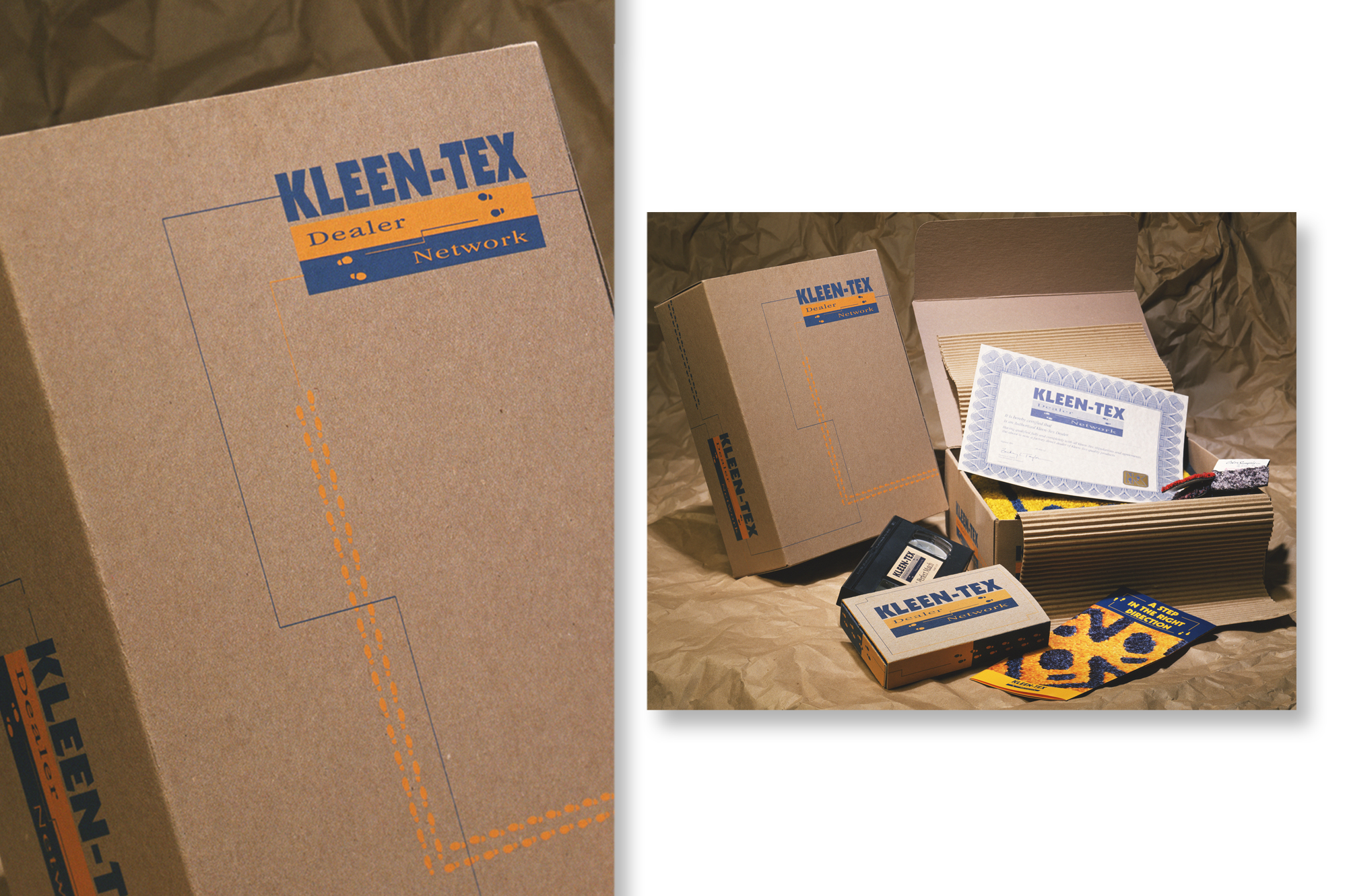 Kleen-Tex Dealership Packaging