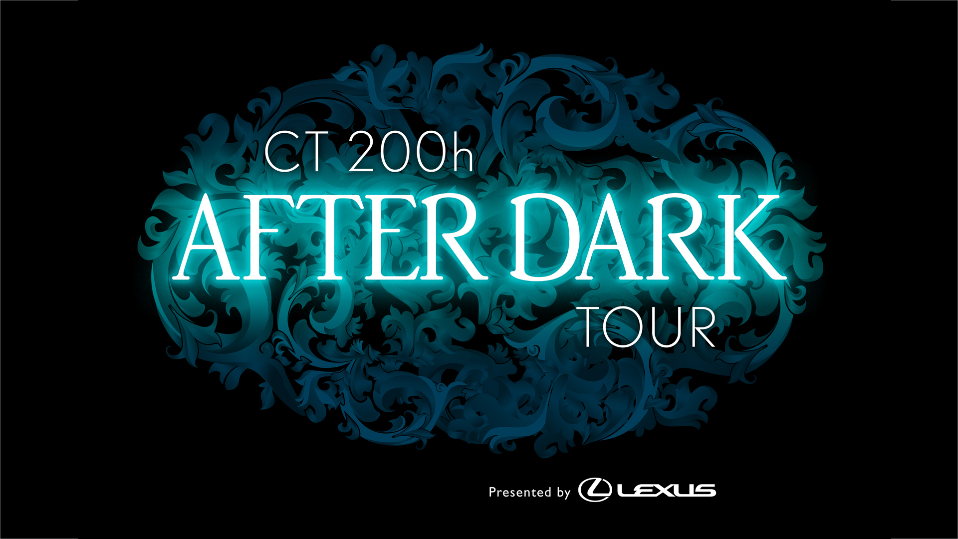 Event logo for Lexus CT200h After Dark Event and Ride and Drive Event. Day time intercepts and night time party and entreatment events in 6 different cities across the U.S.