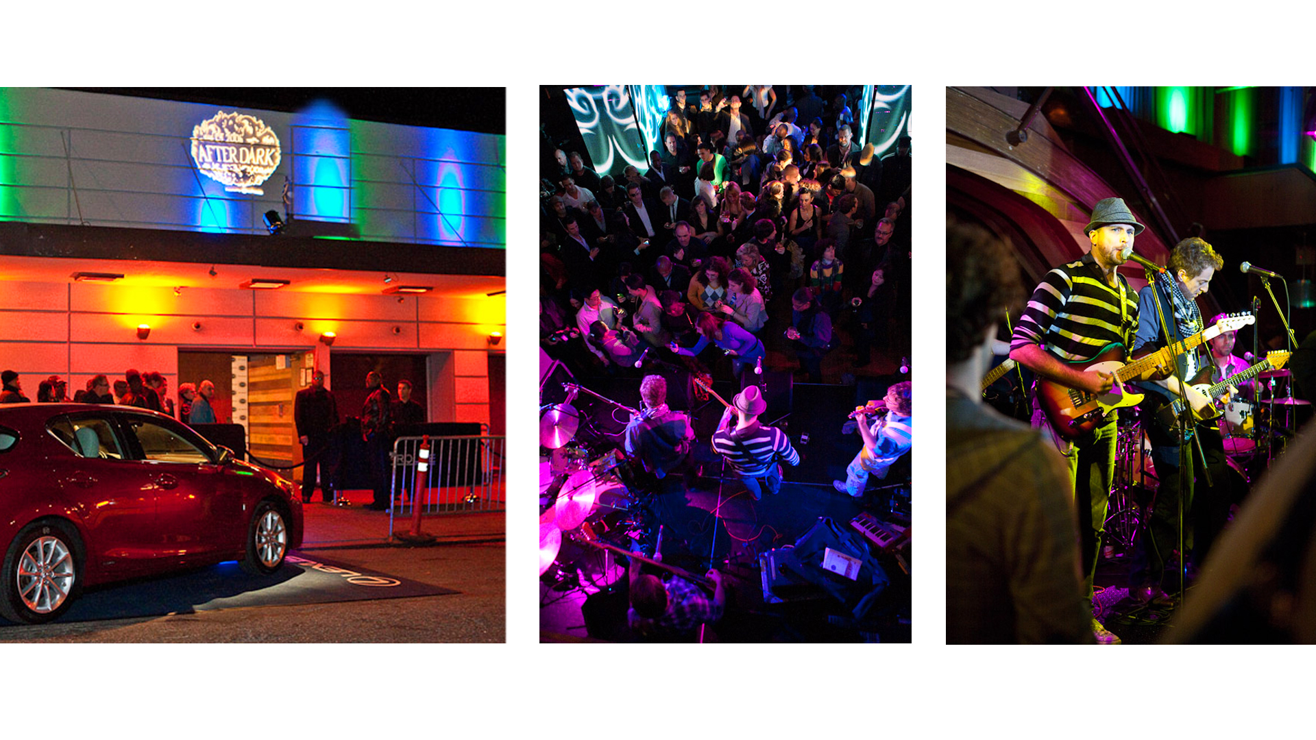 Lexus CT200h Nighttime events in 6 different cities across the U.S.