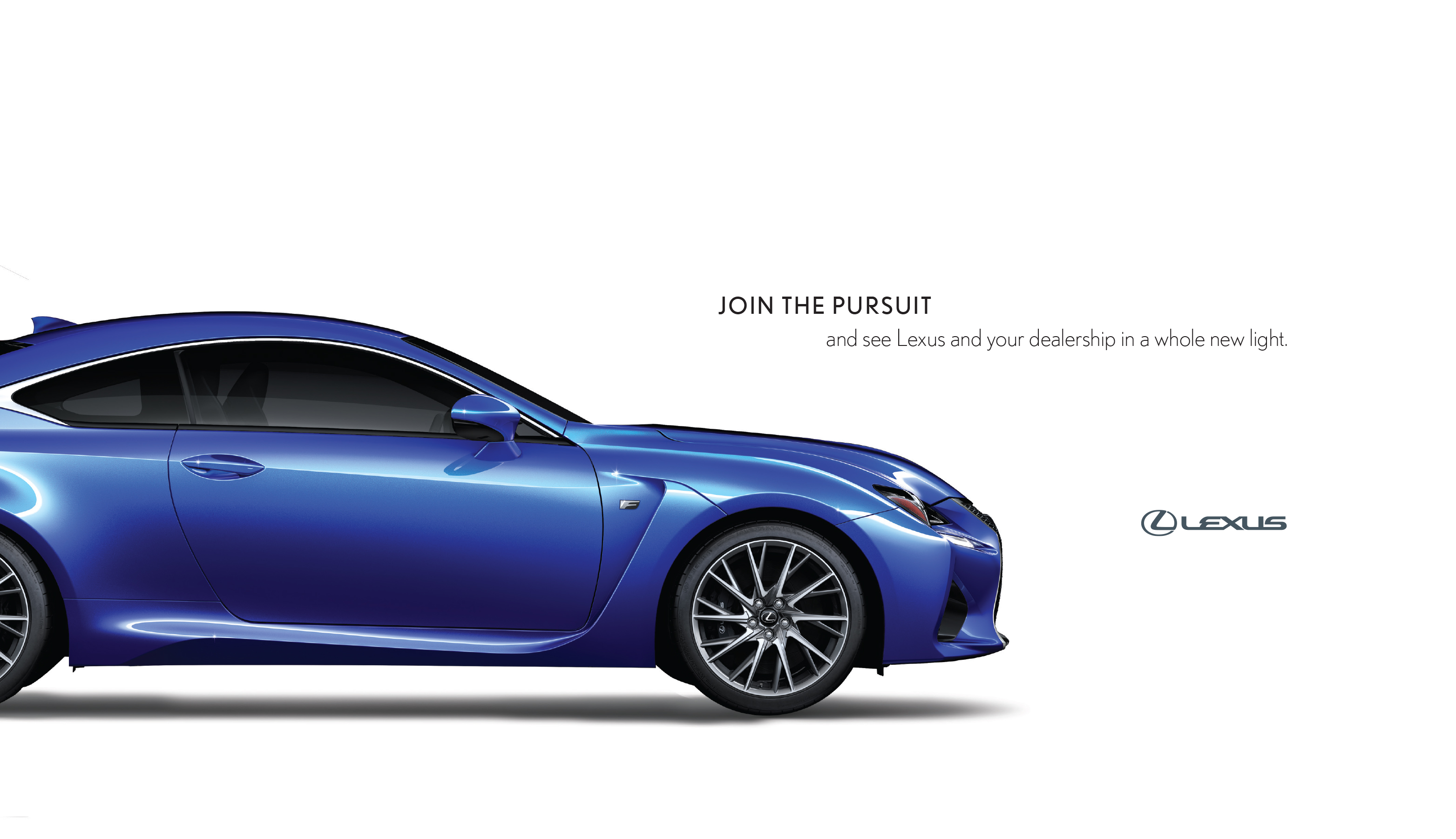 Lexus Dealer Event Invite