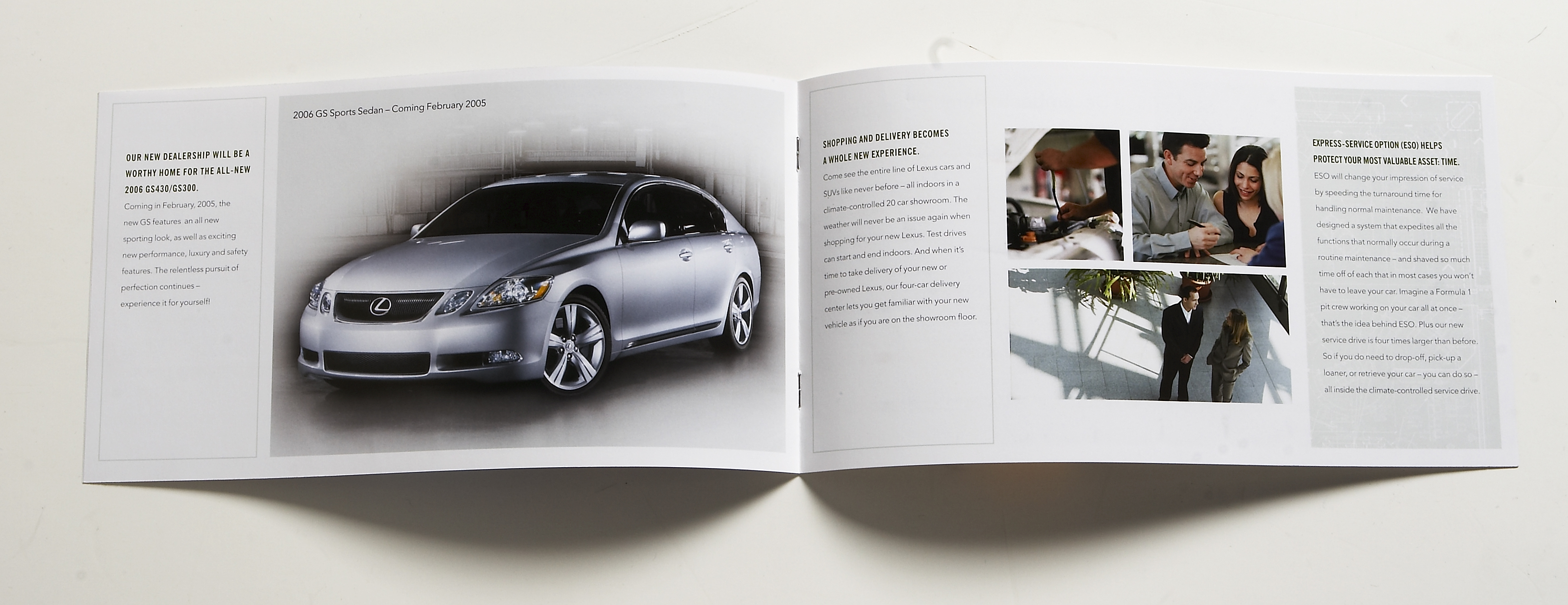 Lexus Inside Spread, Lap of Luxury