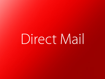 Direct Mail, Brochure and Incentive Mailers