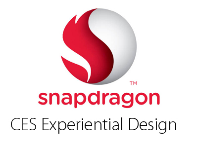 Concept designs for Snapdragon Experiential Anamorphic  Design