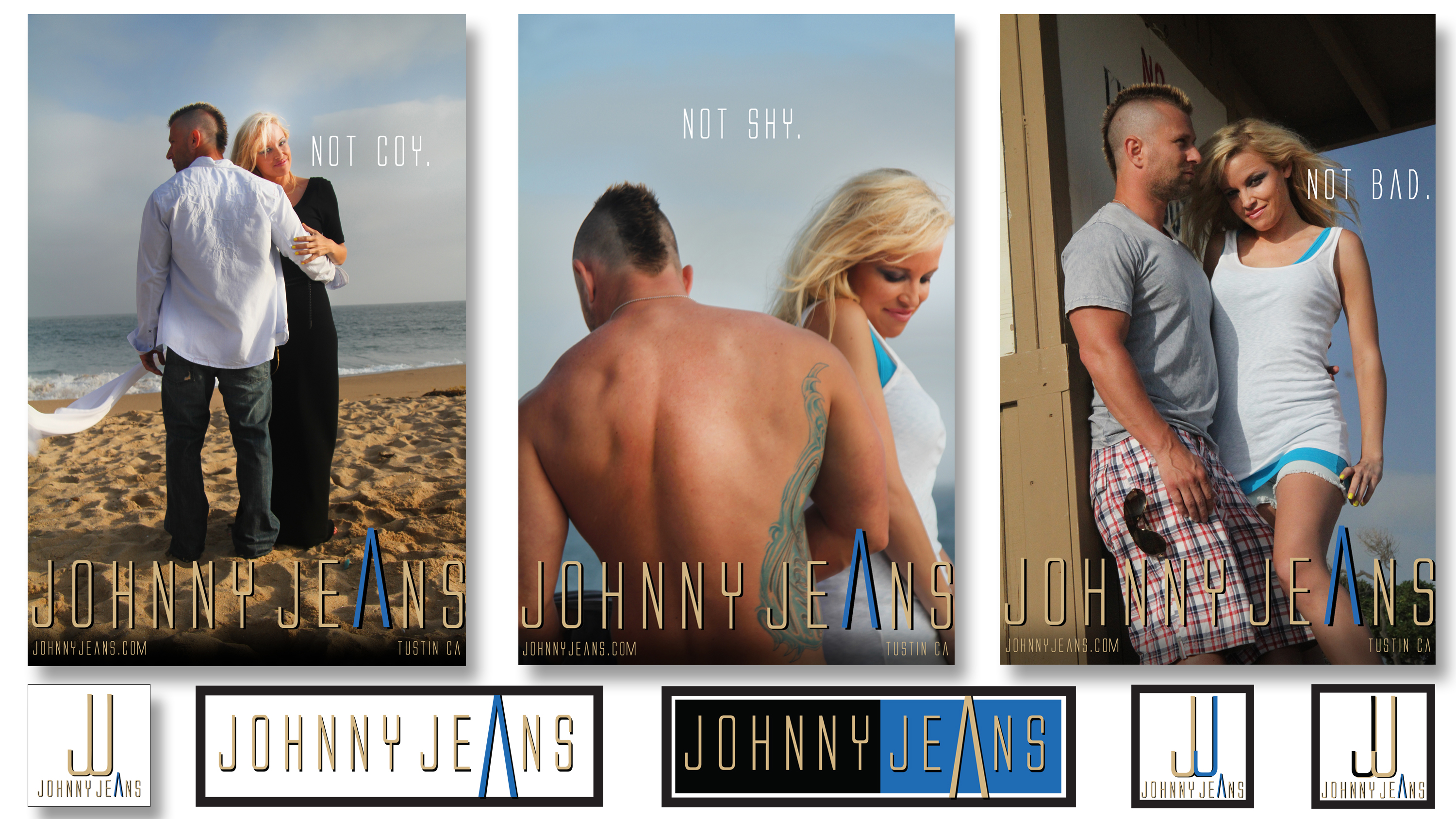 Johnny Jeans Fashion Store in Tustin CA, Branding and Logo