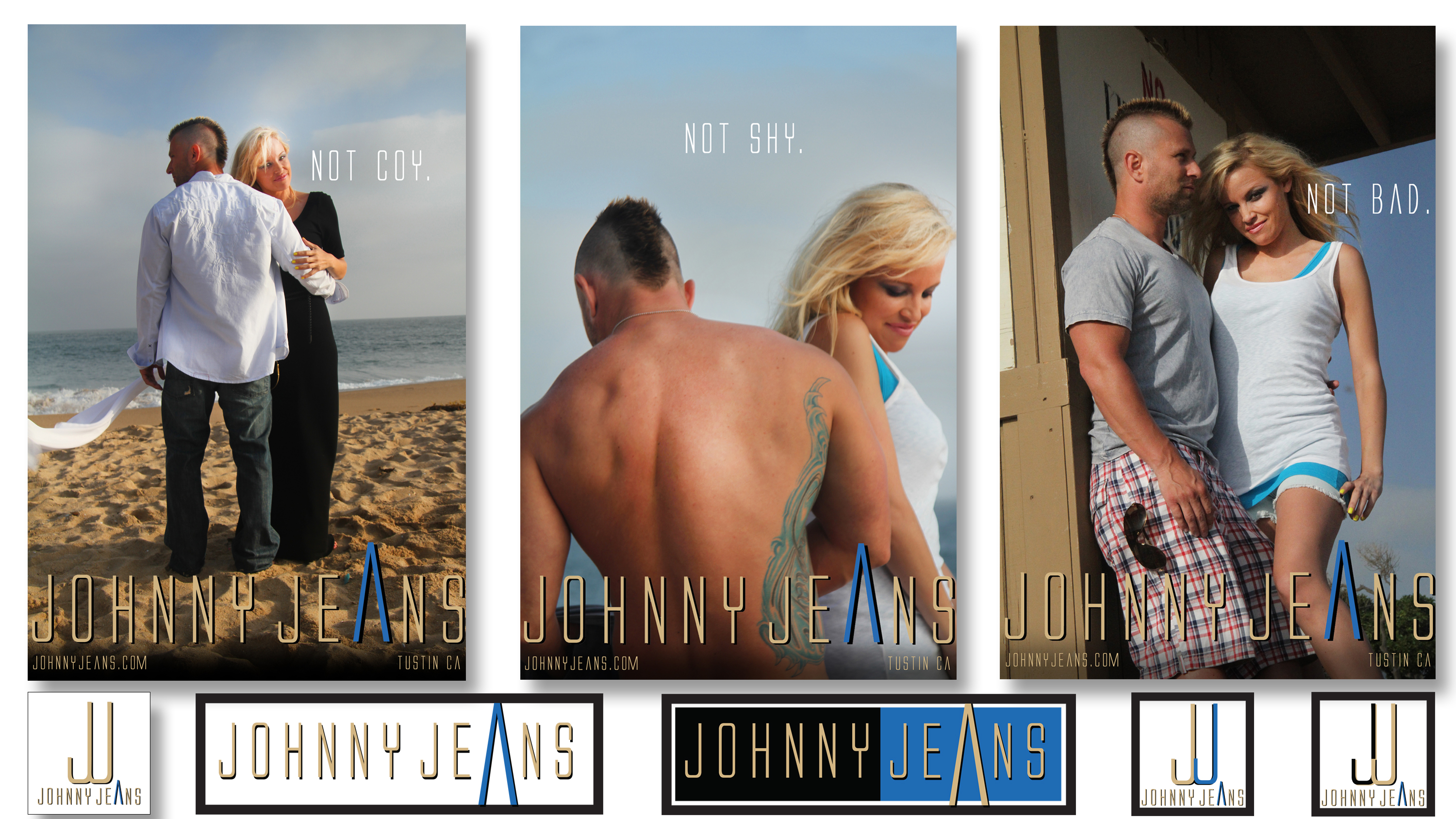Johnny Jeans Fashion Image Ads, Branding and Logo