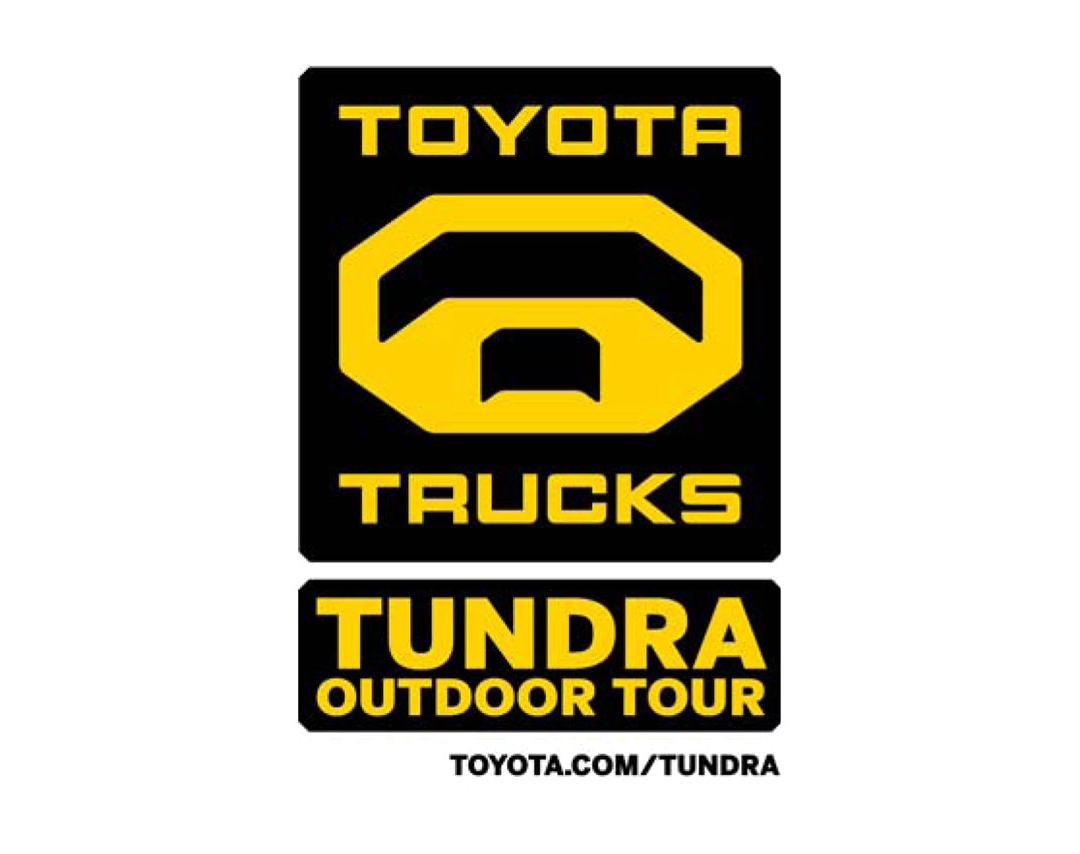 Toyota Tundra Outdoor Tour Event Brand Logo